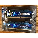 G.SKILL 8GB (2 x 4GB) Ripjaws X Series DDR3 1600MHz PC3-12800 240-Pin Desktop Memory Model F3-12800CL8D-8GBXM