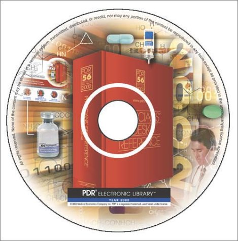 Download PDR Electronic Library: The Physician's Most Trusted Prescribing Resource, 2002 (CD-ROM for Windows 95/NT, Personal/Consumer Version (No pdf