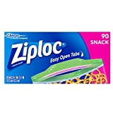 Ziploc Snack Bag, 90 ct