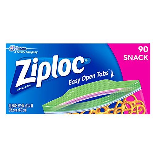 Ziploc Snack Bag, 90 ct