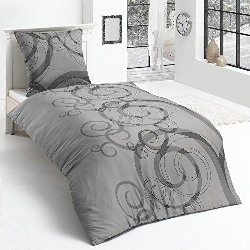 Microfaser Flausch Fleece Winter Bettwäsche Kuschel weich 135x200 Kissenbezug, Design - Motiv:Design 1