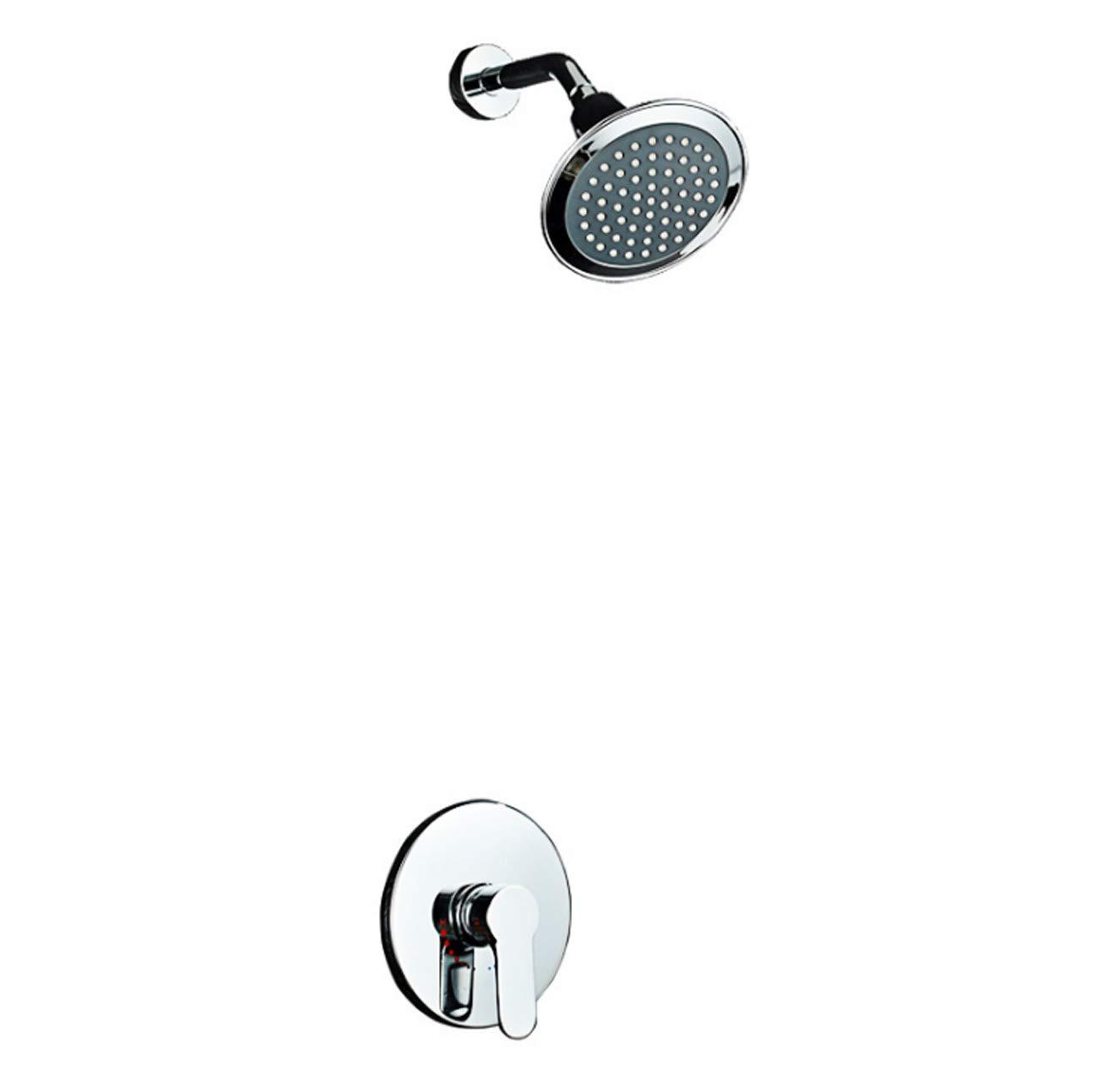人気の ホテルのジムシャワーの蛇口のための ABS Embeddedbox ホーントップシャワー付きの浴室シンプルな隠しシャワーシステムのための隠された壁マウントシャワーミキサーセット,Embeddedbox Embeddedbox ABS B07P5BZZN8 B07P5BZZN8, 盛岡じゃじゃめん白龍:2e3ef7f9 --- arianechie.dominiotemporario.com