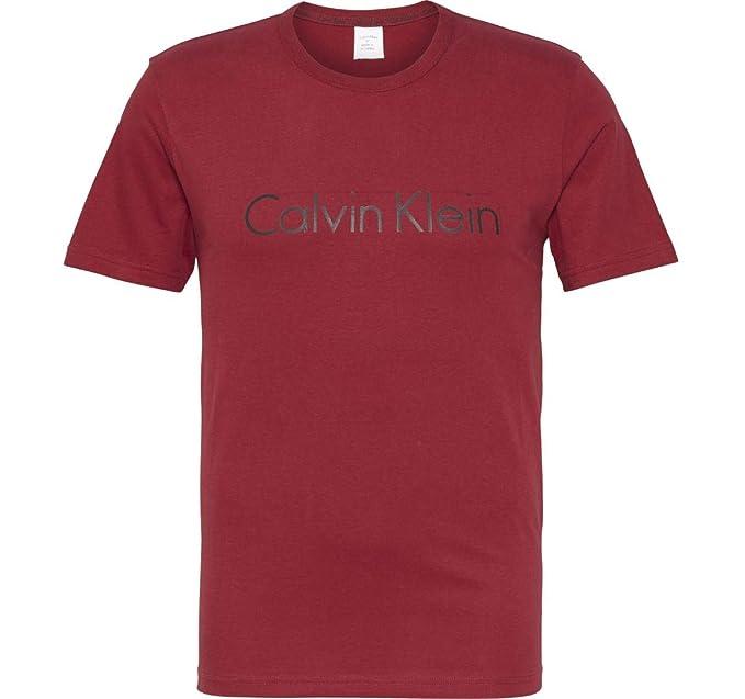 Calvin Klein Comfort Cotton-S/S Crew Neck, Camiseta de Pijama para Hombre: Amazon.es: Ropa y accesorios