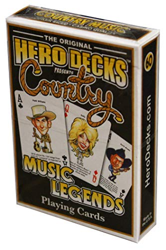 Hero Deck, COUNTRY MUSIC Legends, Playing - Deck Music