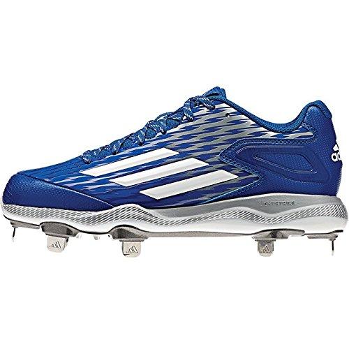 Adidas Performance Kvinner Poweralley 3 M Softball Klamp Kollegialt Royal / Hvit / Grå Metallic