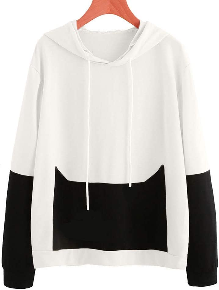 2018 Pullover,Women Sweatshirt Letter Print Sportshirt Loose Casual Pullover Top Crewneck Outwear Coat