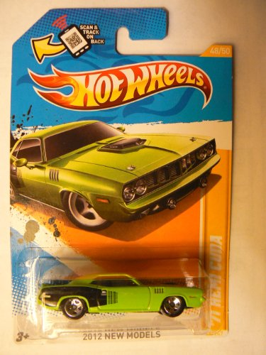 Hot Wheels 2012 New Models 48/50 '71 Hemi Cuda