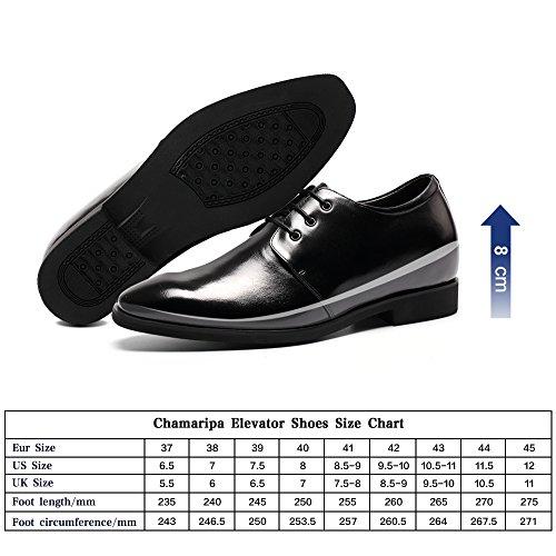 Rehaussante De Chaussure Chamaripa Homme Cuir Grand Pour L62d09k122d 8 Plus Cm OHfB4w