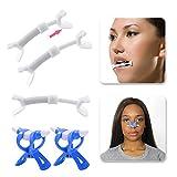 Facial Exercises Cheeks Lift - Slim Mouth Exercise Piece for Facial Flex, 3 Pcs Face Flex Bands Face Lift Beauty Face Shape Exerciser Face Mouth Exerciser Facial Fitness