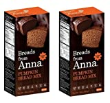 corn bread mix organic - Breads from Anna, Pumpkin Bread, Gluten yeast soy rice corn dairy and nut free, 16 oz (Pack of 2)