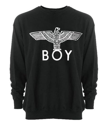 Estilo londinense Bigbang Big Bang Boy London Boy sudadera negro para mujer talla L 01SBL (