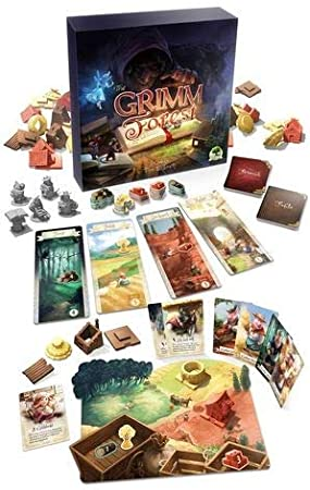 LAST LEVEL- Grimm Forest Castellano, Multicolor (BGGRIMM): Amazon.es: Juguetes y juegos