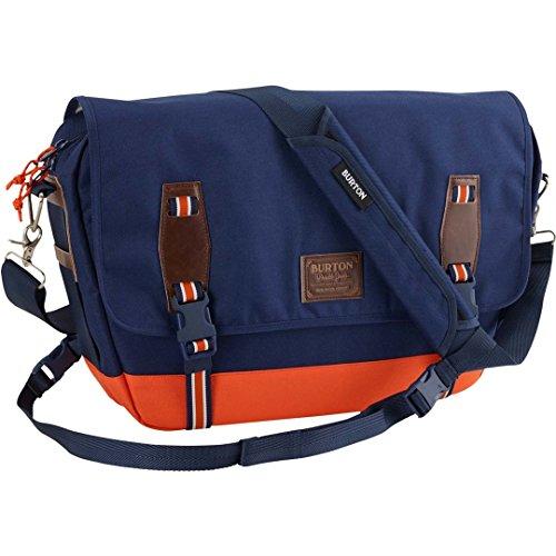 Burton Unisex Flint Messenger Medieval Blue Twill Messenger Bag