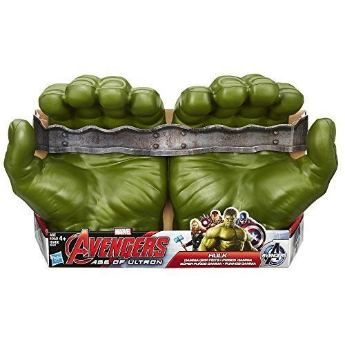 NEW Marvel Avengers Hulk Gamma Grip Fists Fun &Incredible Costume Prop By Marvel ^G#fbhre-h4 8rdsf-tg1376506