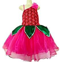Little Girls' Lotus Flower Tutu Design Dress Wrap Costume Cosplay Uniform Party