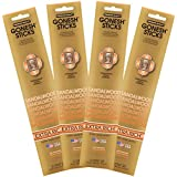 Gonesh Collection Sandalwood – 4 Pack-Extra Rich Incense, Set of Four 20-Stick Piece - GOA4SA