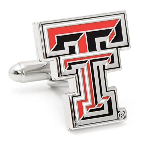 - Texas Tech University Red Raiders Cufflinks Novelty 1 x 1in