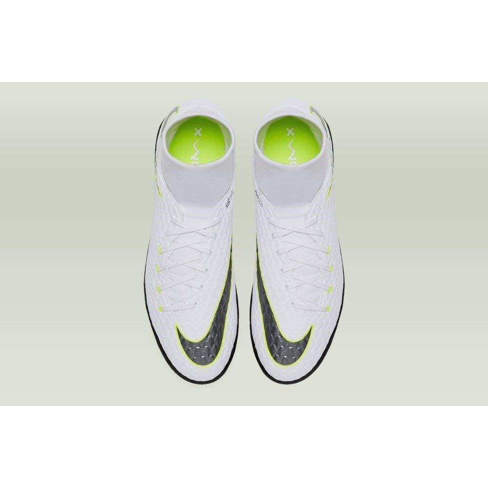 Fußball Sport & Freizeit White/Volt 7.5 NIKE PhantomX 3 Academy DF TF
