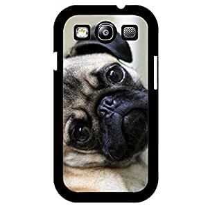 Hottest Specialzied Pet Pug dog Phone Case Cover For Samsung Galaxy S3 mini Nice Protective Mobile Shell
