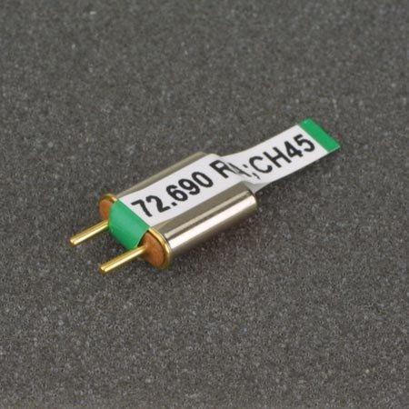 - Receiver Crystal AM/FM S. C. Ch 45