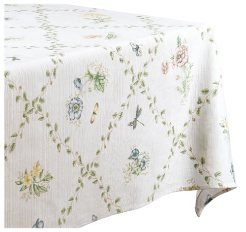 UPC 047596038918, Lenox Butterfly Meadow 52-by-52-Inch Tablecloth