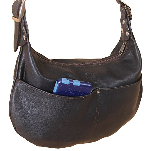 Womens Black Bag Nickel Purse 25 Drifter Shoulder Buckle No Leather Hobo Handbag rBW6qPrS