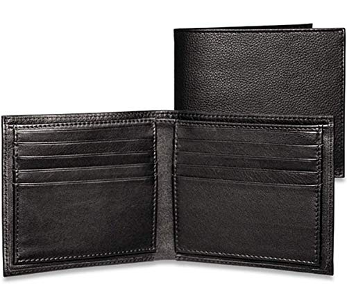 Jack Georges [Personalized Initials Embossing] Platinum Special Edition Hipster, Leather Wallet in ()