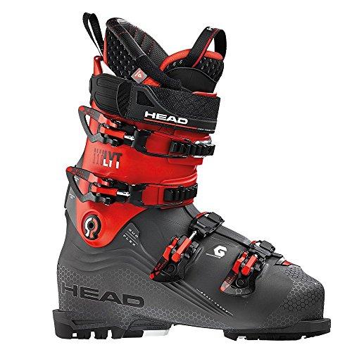 (HEAD Nexo LYT 110 Ski Boot - Mens, Anthracite/Red, 28.5)