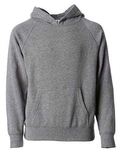 Global Boys Pullover Hoodie Girls Sweatshirts Front Pockets Fleece Kids Jacket (6T, Nickel Grey) (Apparel Grey Nickel)