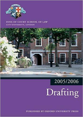 Bar Manual: Drafting 2005/6 (Blackstone Bar Manual)