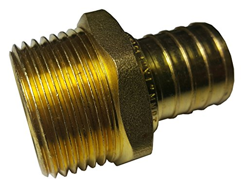 Threaded Adapter Brass - 5 PIECES XFITTING 1
