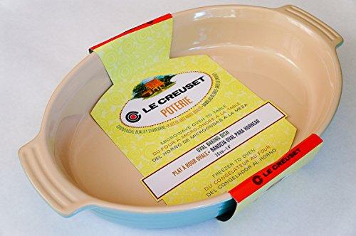 Le Creuset Stoneware 14'' 36cm Oval Baking Dish, Light Aqua Blue by Le Creuset