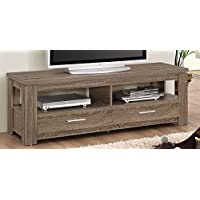 ACME Furniture 91727 Xanti TV Stand, Dark Taupe