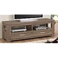 ACME Furniture 91727 Xanti TV Stand, Dark Taupe