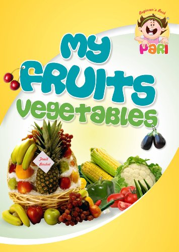 my fruits vegetable children picture books to teach fruits and