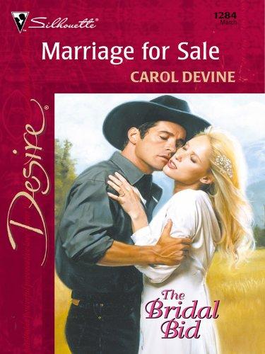 Marriage For Sale (The Bridal Bid Book 1284)