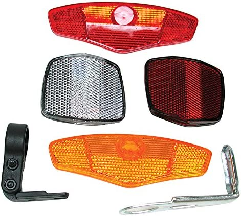 p002903440704000 REFLECTORS Reflector with Mounting Kit for Bikes NEW et