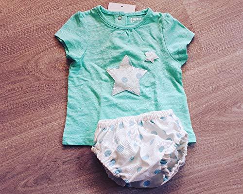 Conjunto Camiseta y Cubrepañal Bebe Topos: Amazon.es: Handmade