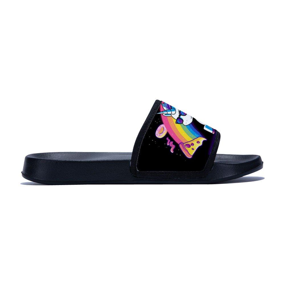 GordonKo Unisex Slide Sandals Slip On Fashion Comfortable Beach Sandal Shoes Little Kid//Big Kid