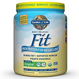 Garden of Life Meal Replacement - Raw Organic Fit Vegan Nutritional Shake for Weight Loss, 15.1oz (427g) Powder