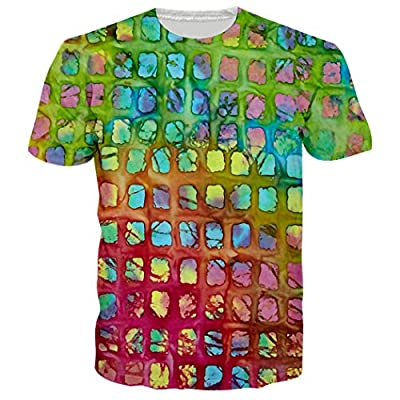 Leapparel Unisex 3d Digital Printed Personalized Short Sleeve T Shirts Tees