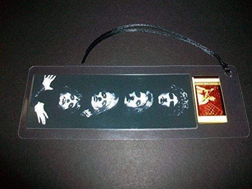 QUEEN Freddie Mercury Movie Film Cell Bookmark memorabilia - Compliments poster dvd book