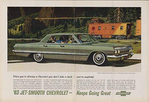 Not Sport Sedan - Don't take a back seat to anyone Chevrolet Impala Sport Sedan ad 1963