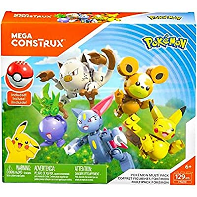 Mega Construx Pokemon Multipack: Toys & Games