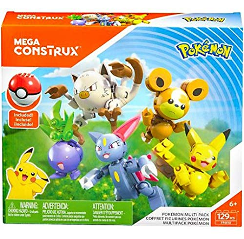 Mega Construx Pokemon Multipack Only $11.24