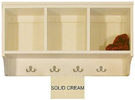 Amazon.com: Cubby estante con ganchos 3 ft: Kitchen & Dining