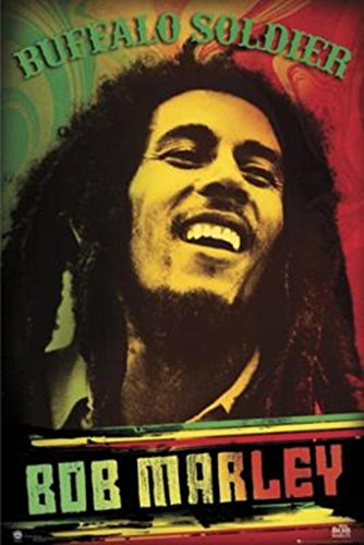 Bob Marley-Buffalo Soldier Poster 24 x 36in