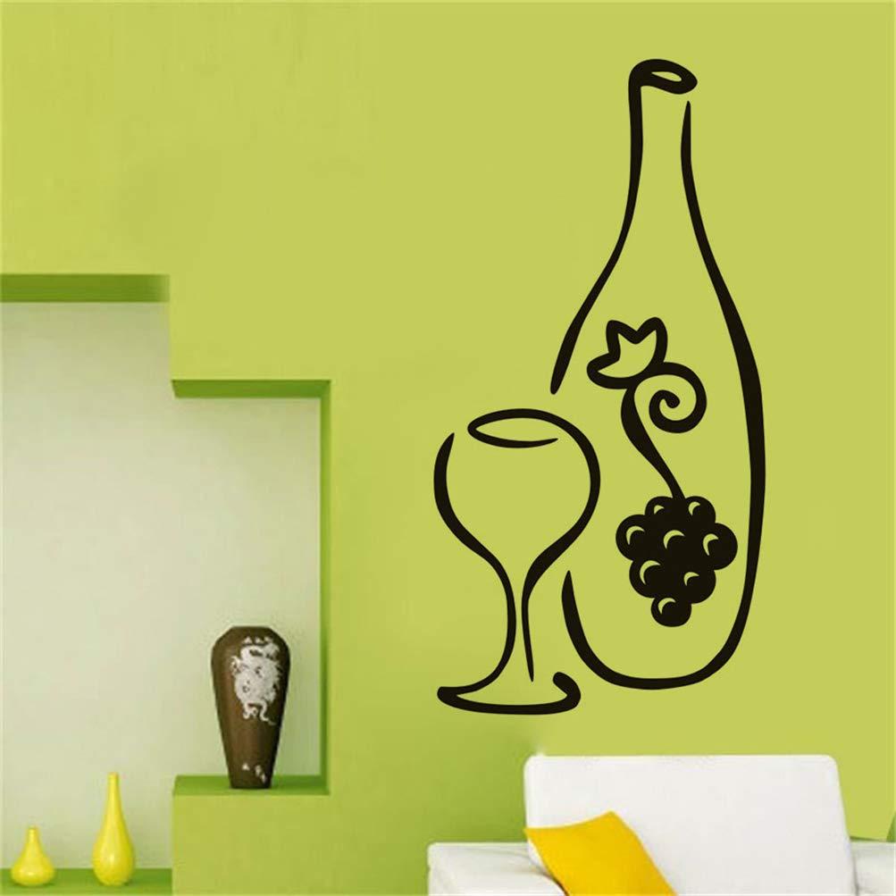 pegatina de pared 3d pegatina de pared frases Cocina Botella ...