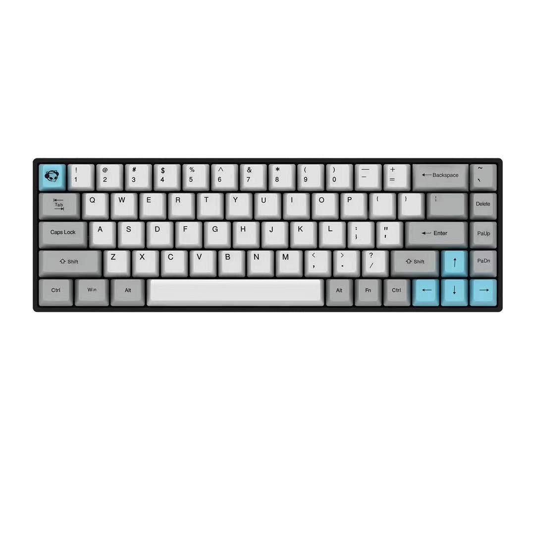 Akko 3068 Mini Wireless Wired Mechanical Gaming Keyboard Cheery MX Switch PBT Keycaps Cherry MX Blue
