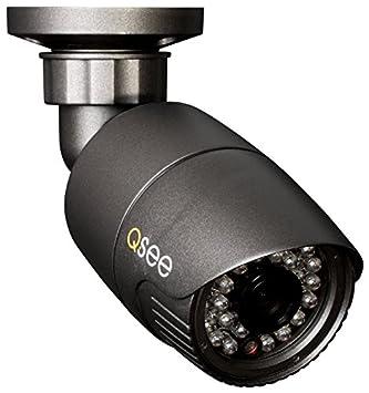 Q-See QH8003B CCTV security camera Interior y exterior Bala Negro - Cámara de vigilancia